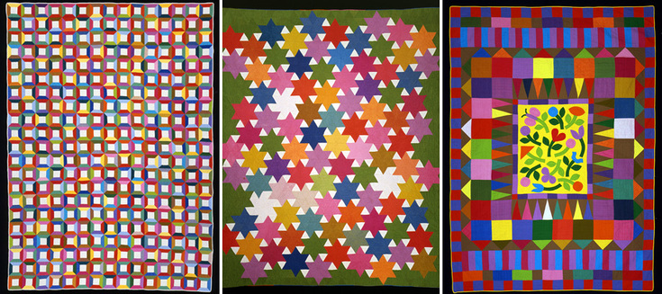 A collection of quilts made by Marilyn Neuhart