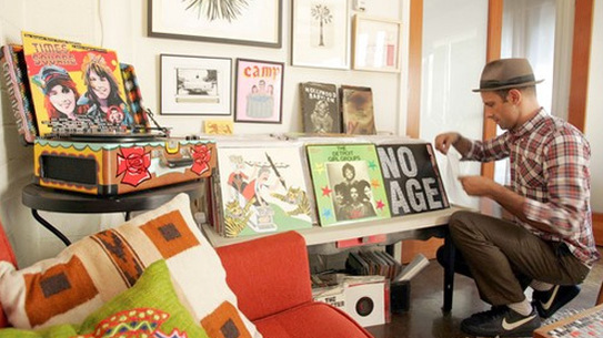 At home with Aaron Rose