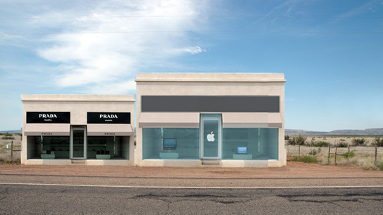 The Apple Store Marfa?