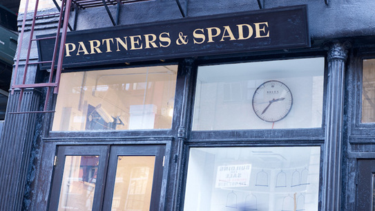 Partners & Spade 40 Great Jones Street