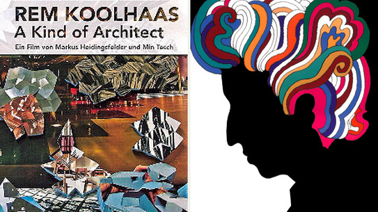 Left: <i>Rem Koolhaas: A Kind of Architect</i> Right: <i>Milton Glaser: To Inform & Delight</i>