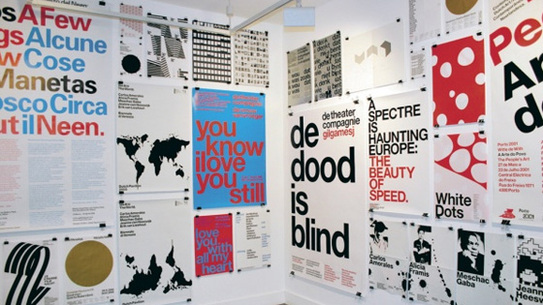 Various posters from Experimental Jetset