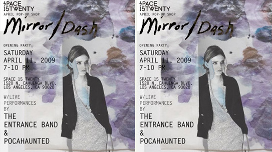 Space 15 Twenty opening party for Mirror/Dash