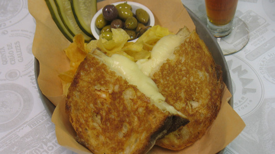 April is Grilled Cheese Month at Artisinal Bistro
