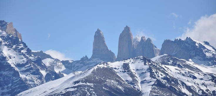The horns of the Paine Massif