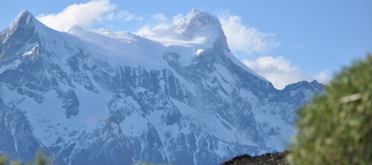 Details of the Paine Massif
