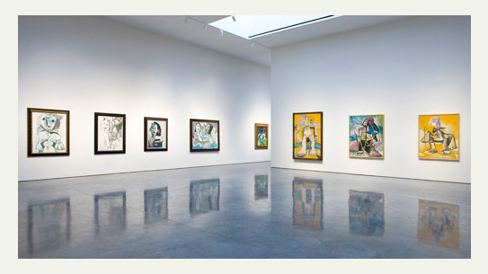 Picasso: Mosqueteros, installation view.