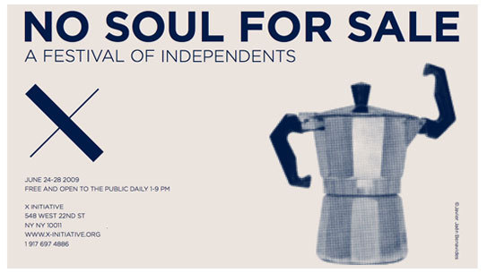 No Soul For Sale, A Festival of Independents