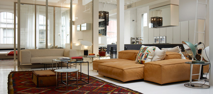 The scout features design by loft visit for Living divani softwall