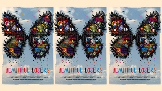 Beautiful Losers movie poster