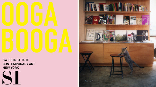 Ooga Booga at Swiss Institute's Reading Room