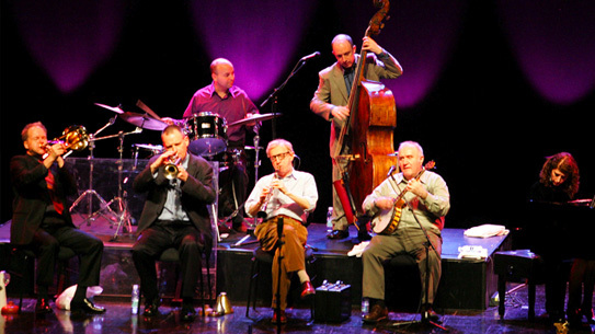 Woody Allen & The Eddy Davis New Orleans Jazz Band in Lisbon Portugal 2005