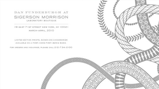 Dan Funderburgh at Sigerson Morrison