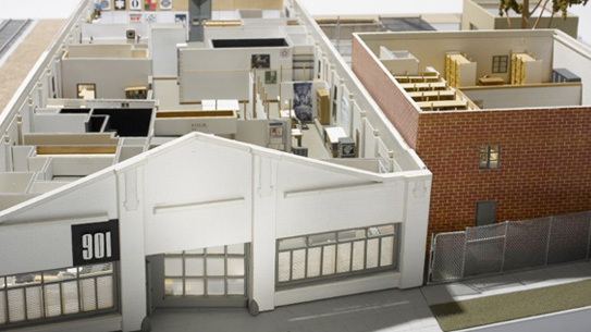 the eames office. Eames Office Model Constructed By John Neuhart The