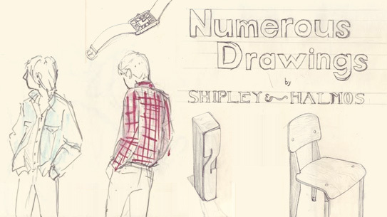A collection of drawings from Shipley and Halmos