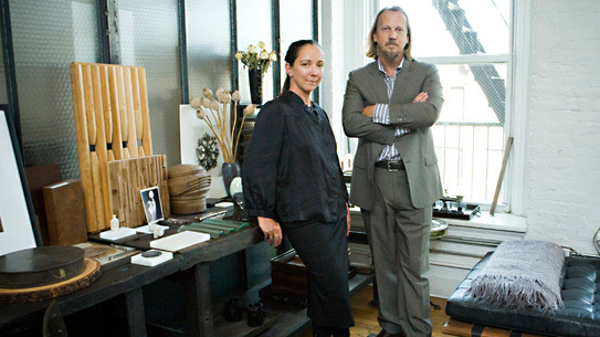 Robin Standefer and Stephen Alesch, partners behind Roman & Williams