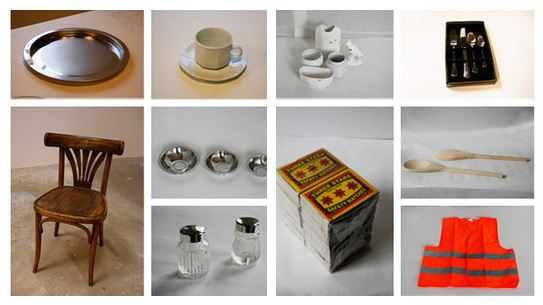 A few of the items that Droog recovered from liquidation auctions.