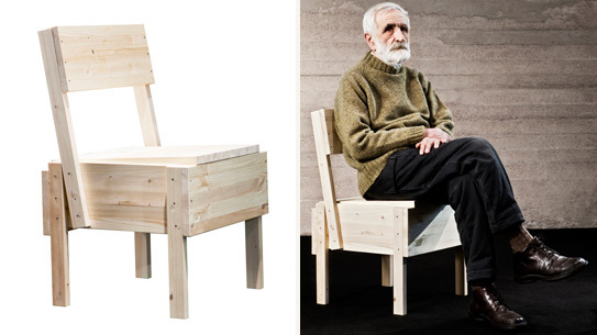 the scout blog industrial furniture design sedia 1 chair by enzo mari. Black Bedroom Furniture Sets. Home Design Ideas