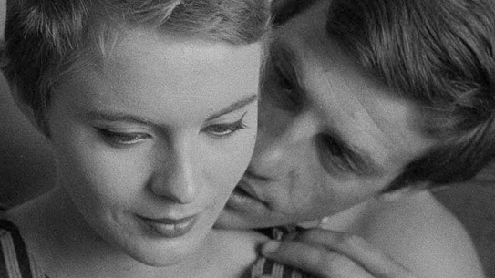 <i>Breathless</i> Jean Seberg and Jean-Paul Belmondo