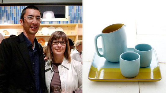 Robin Petravic and Catherine Bailey from Heath Ceramics