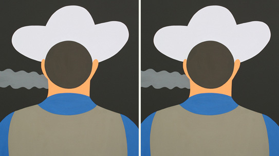 Geoff McFetridge at Half Gallery