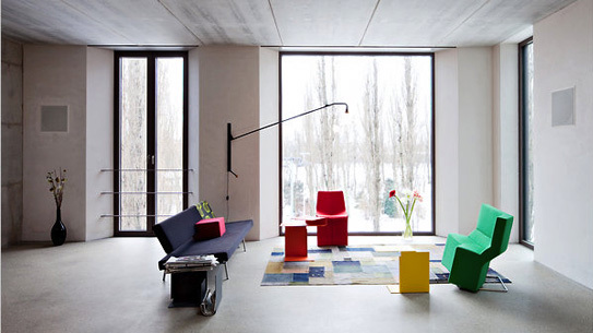 Artist Karin Sander's home in Berlin