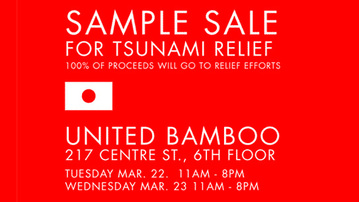 United Bamboo Sample Sale