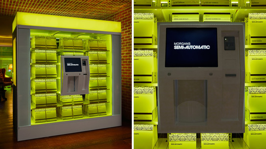 Semi-Automatic, an oversized vending machine stocked with designs from CFDA's Fashion Incubator