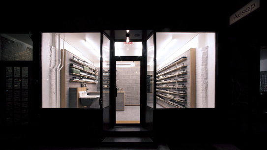Aesop Nolita designed by TACKLEBOX