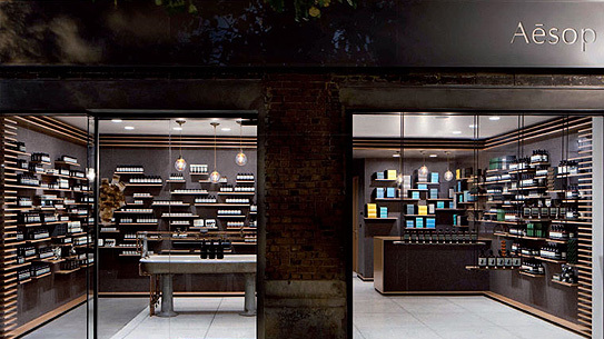 Aesop University Place store