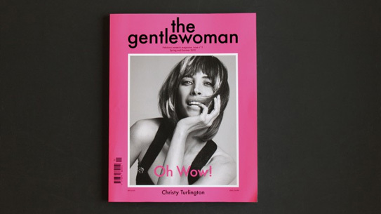 The Gentlewoman with Christy Turlington on the cover.