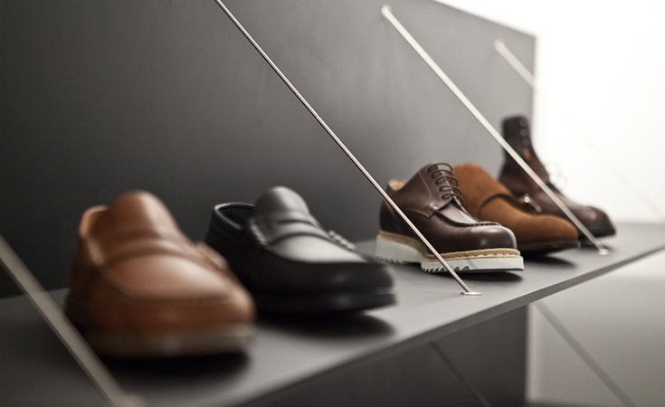 Shoes from Paraboot and Ovadia and Sons