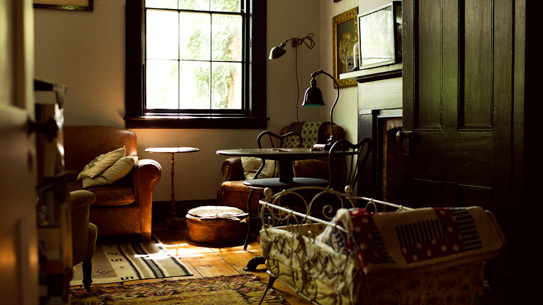 A peek inside Luke Scarola and Rebecca Squiers's home in Cold Spring, NY.
