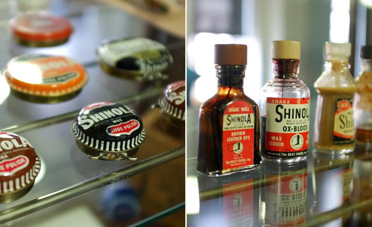 Various Shinola products from the early 20th century.