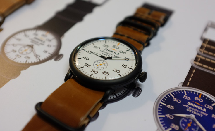Shinola's Argonite 1069 watch.