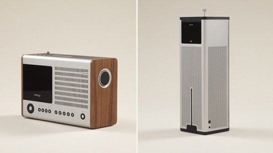 Left: Revo Heritage Radio Right: Revo K2 Radio