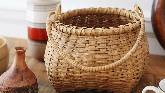 Square-Bottomed Basket from the Found Collection.
