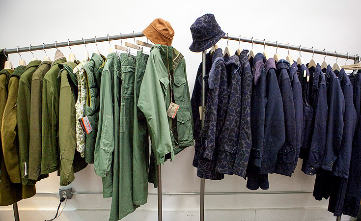 Engineered Garments Fall / Winter 2012 color coordinated.