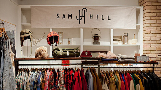 Sam Hill at the Helm Showroom