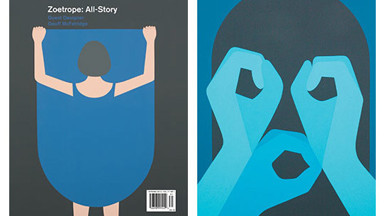 Zoetrope All-Story Spring 2013 with guest designer Geoff McFetridge