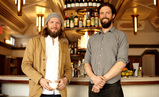 The designers of Alameda, Evan and Oliver Haslegrave of hOmE.
