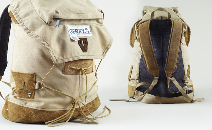 A later designed Gerry rucksack from the 1970s.