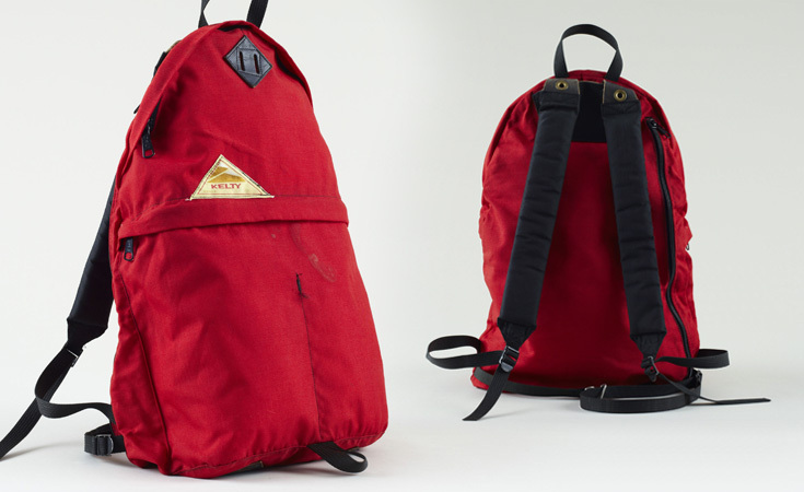 Kelty launched their Vintage line in 2011 and brought back the Daypack that is similar in design to this one. This is an original from the 1970s.