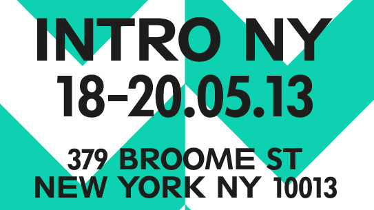 INTRO NY by Designjunction
