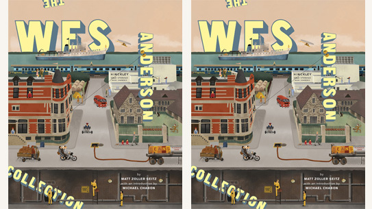 The Wes Anderson Collection published by Abrams coming out this fall.