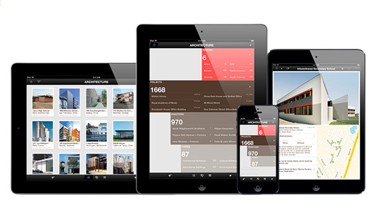 Phaidon Architecture Travel Guide for the iPhone, iPad, and iPad Mini