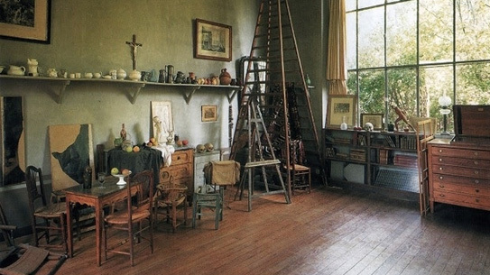 Paul Cézanne's studio