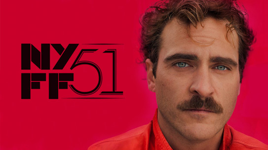 "Spike Jonze's ""Her"" makes it world premiere at the New York Film Festival"