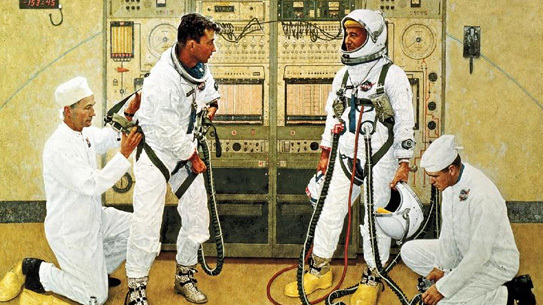 Norman Rockwell for NASA