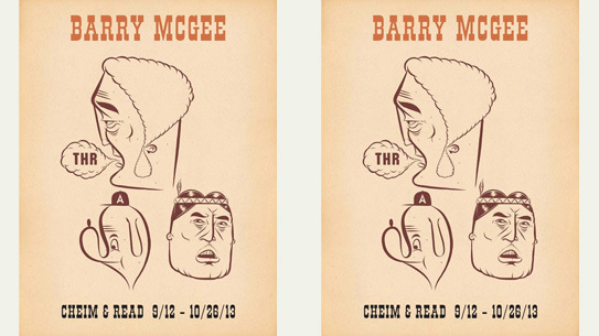 Barry McGee at Cheim & Read